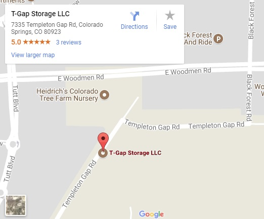 T Gap Google Map T Gap Storage